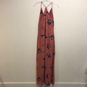 Lush Dresses - Lush Multi Surplice Side Slit Max Dress